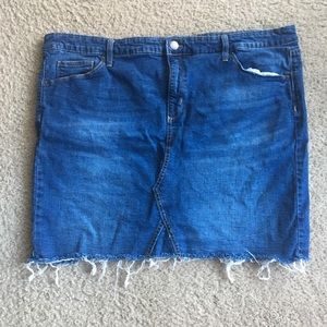 df64e55334b Women s Plus Size Jean Skirt on Poshmark